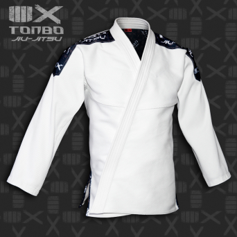 BJJ / Jiu-Jitsu 4X jacket, white, 580gsm (27 sizes)
