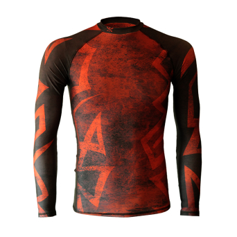 rashguard RUST long sleeve