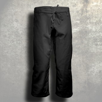 ju-jitsu trousers TONBO - MASTER, black, 12oz - DEFECT