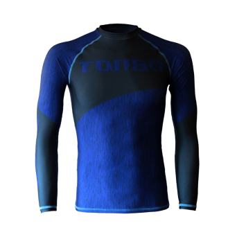 rashguard FIBERS BLUE long sleeve