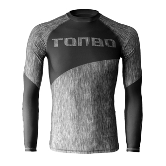 rashguard FIBERS GREY long sleeve