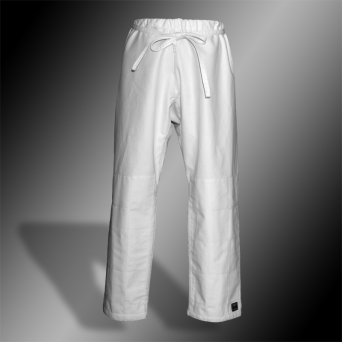 aikido trousers TONBO - CLASSIC, white, 12oz