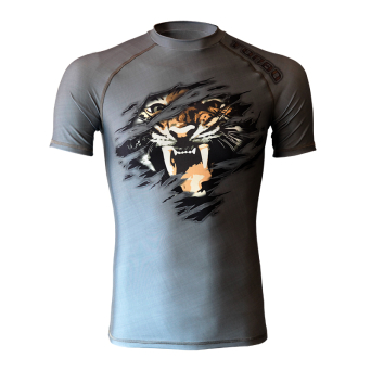 rashguard MAD TIGER short sleeve