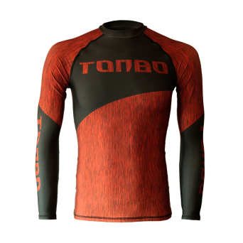 rashguard FIBERS RED long sleeve