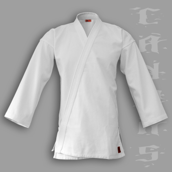 aikido gi TONBO - CANVAS, white, 14oz - man's