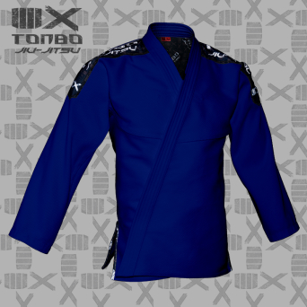 BJJ / Jiu-Jitsu 4X jacket, blue, 580gsm (27 sizes)