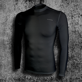 rashguard, long sleeve, black