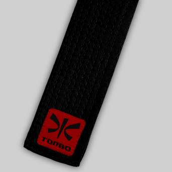 black standard belt (5cm, cotton)