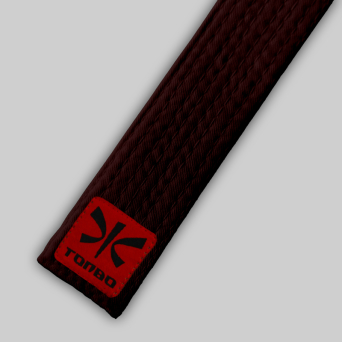 brown basic belt (4cm, cotton)