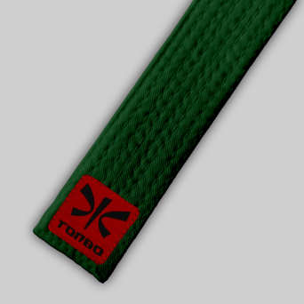 green basic belt (4cm, cotton)