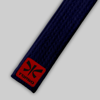 blue basic belt (4cm, cotton)