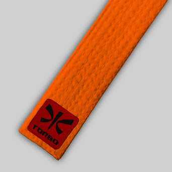orange basic belt (4cm, cotton)