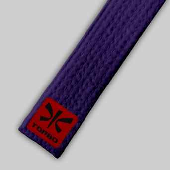 purple basic belt (4cm, cotton)