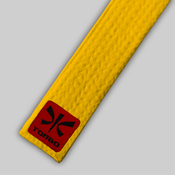 yellow basic belt (4cm, cotton)