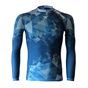 rashguard TRIANGLES long sleeve
