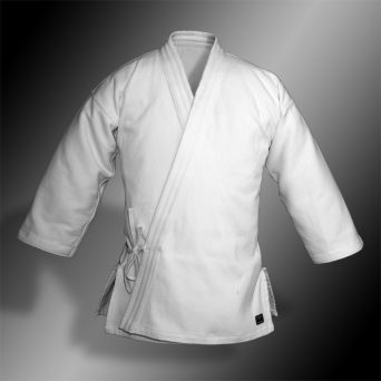aikido gi TONBO - BAMBOO-LIGHT, white, 420gsm - Man's