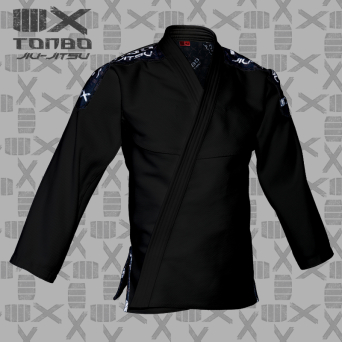 BJJ / Jiu-Jitsu 4X jacket, black, 580gsm (27 sizes)