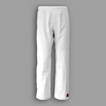aikido trousers TONBO - ELASTIC, white, 10oz